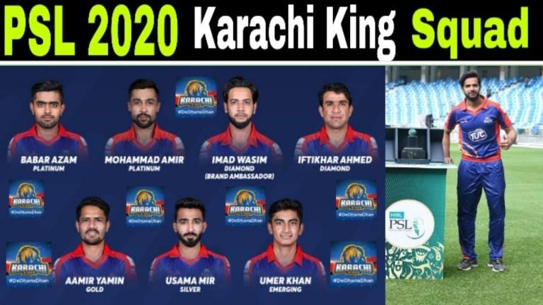 PSL team karachi kings image