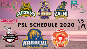 PSL time table image