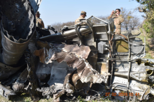 Pakistan Air force Shot down Jet and pilot arrested