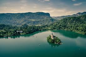 Slovenia bled lake hd wallpaper