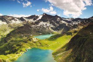 aerial alpine ceresole hd wallpaper